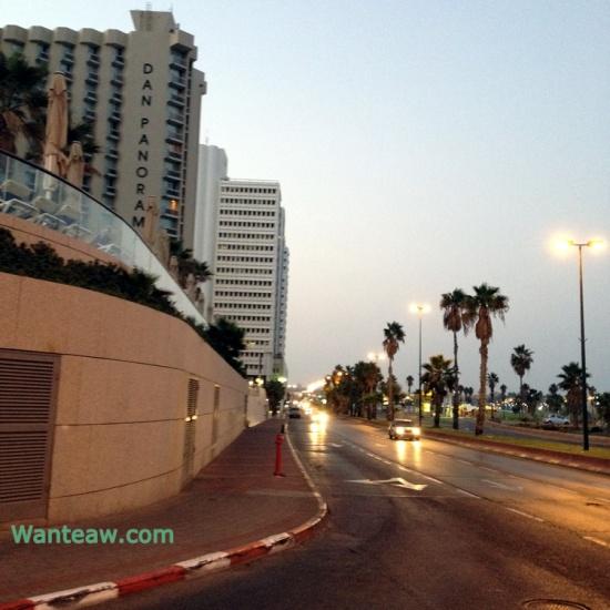 Dan panorama hotel at Tel Aviv