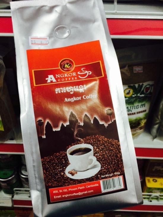 ลองซื้อกาแฟกัมพูชาไปลอง เค้าว่ากันว่ารสชาติดี